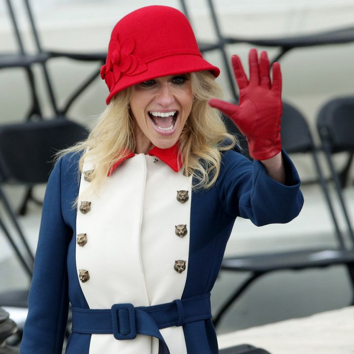 Kellyanne Conway Responds to Critics of Inauguration Look