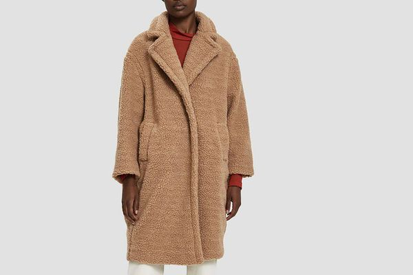 Farrow Roma Faux Shearling Coat