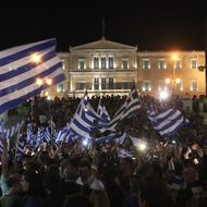 Supporters of 'No' in Greek austerity referendum rally in Athens