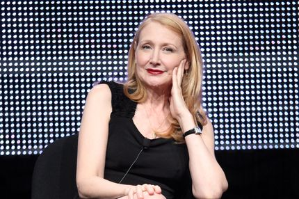 BEVERLY HILLS, CA - JULY 27:  Actress Patricia Clarkson speaks during the 'Five' panel during the Lifetime portion of the 2011 Summer TCA Tour at the Beverly Hilton on July 27, 2011 in Beverly Hills, California.  (Photo by Frederick M. Brown/Getty Images)