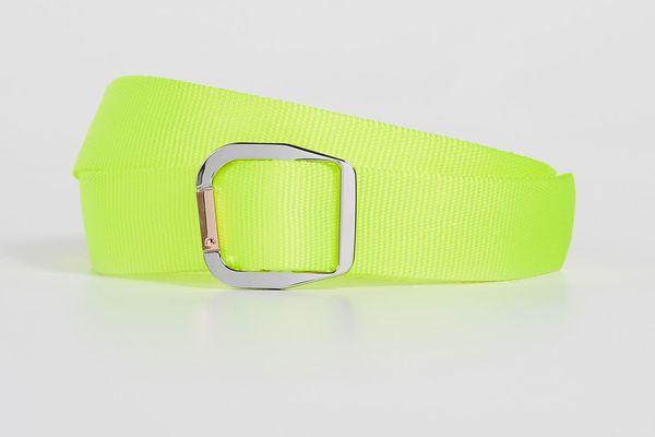 Tibi Carabiner Nylon Belt