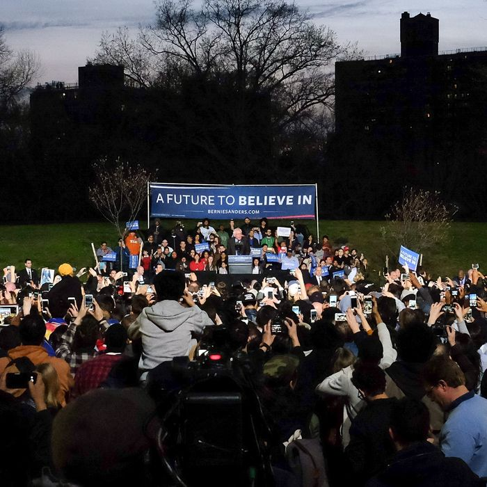 A Future to Believe In Bronx Rally