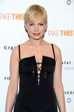 "NEW YORK, NY - JUNE 21:  Actress Michelle Williams attends the ""Take This Waltz"" Special New York Screening at Sunshine Landmark on June 21, 2012 in New York City.  (Photo by Jason Kempin/Getty Images)"