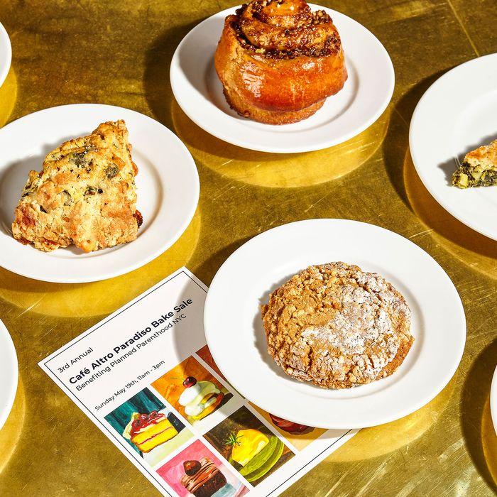 Café Altro Paradiso bake sale.