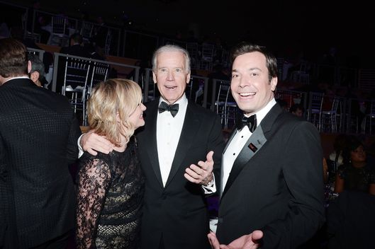Amy Poehler, Vice President Vice President Joe Biden, Jimmy Fallon==TIME 100 GALA: TIME'S 100 MOST INFLUENTIAL PEOPLE IN THE WORLD==Jazz at Lincoln Center, NYC==April 23, 2013==?Patrick McMullan==Photo - PATRICK MCMULLAN/PatrickMcMullan.com== ==
