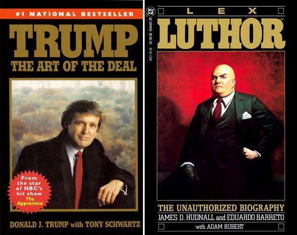 Image result for donald trump lex luthor