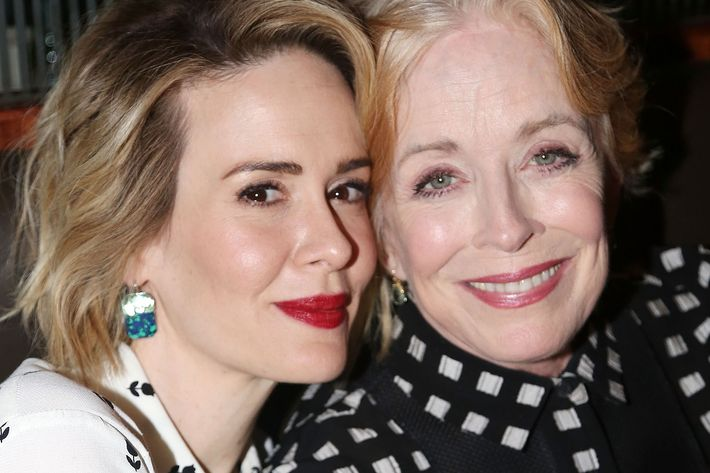 Sarah Paulson and Holland Taylor. (Photo: Bruce Glikas/FilmMagic)