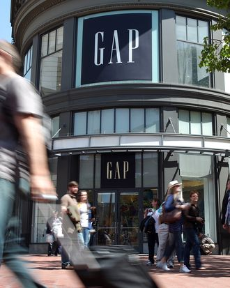 Not Gap's utopia.