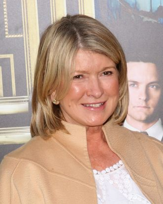 Martha Stewart attends the