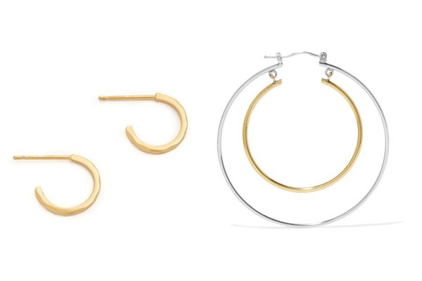 Gorjana Taner Mini Hoop Earrings
