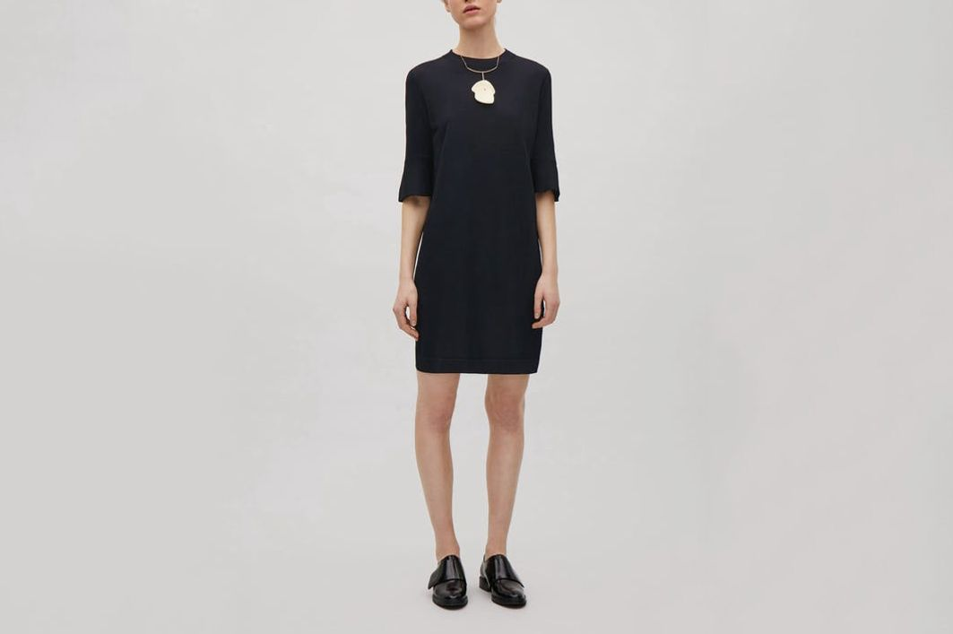 COS Flared Sleeve Dress