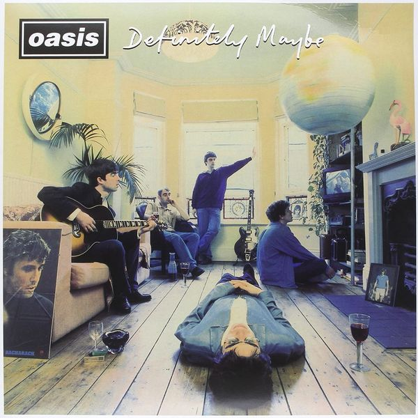 Definitely Maybe, by Oasis