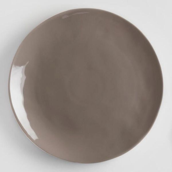 Charcoal Element Dinner Plates, Set Of 4