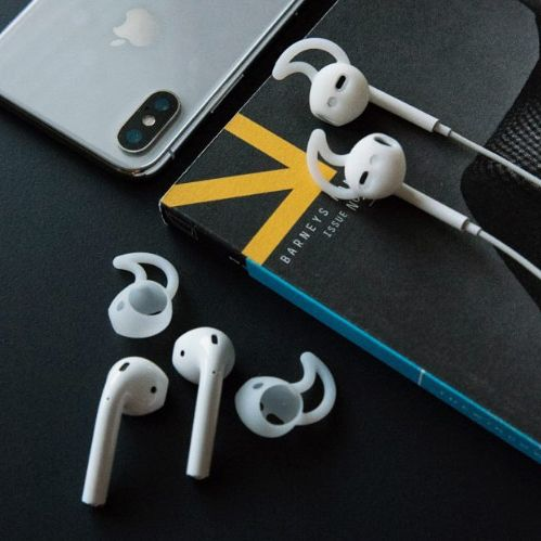 EarBuddyz 2.0 Apple AirPod Covers, 2-Pack