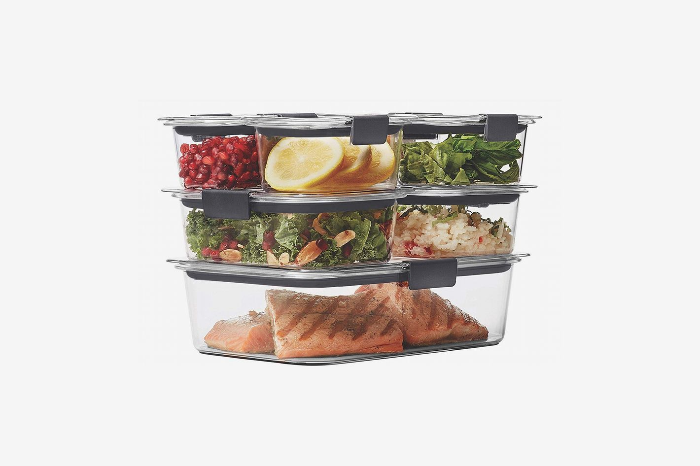 Rubbermaid Brilliance Food-Storage Container, 14-Piece Set