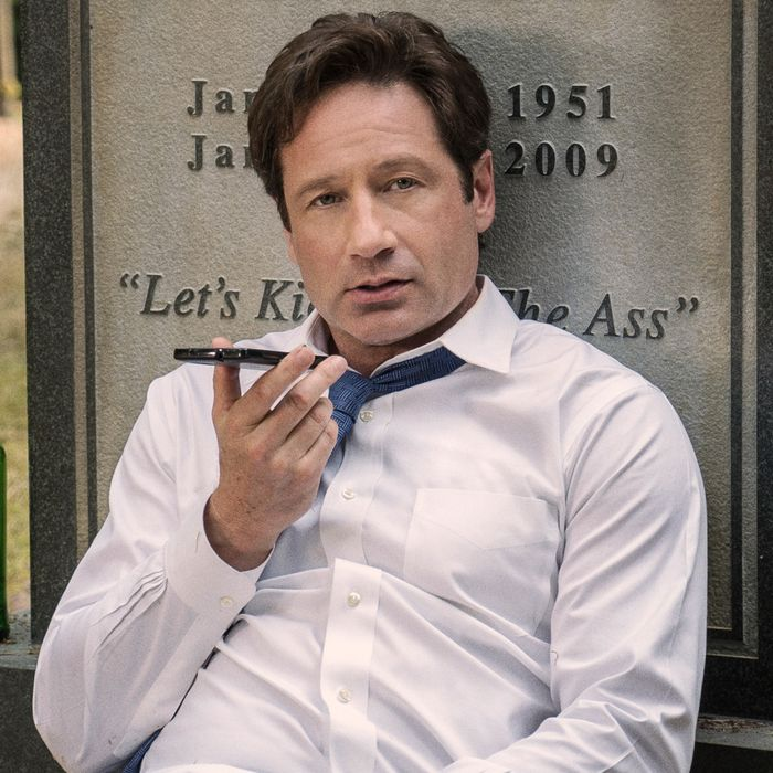 THE X-FILES: David Duchovny in the