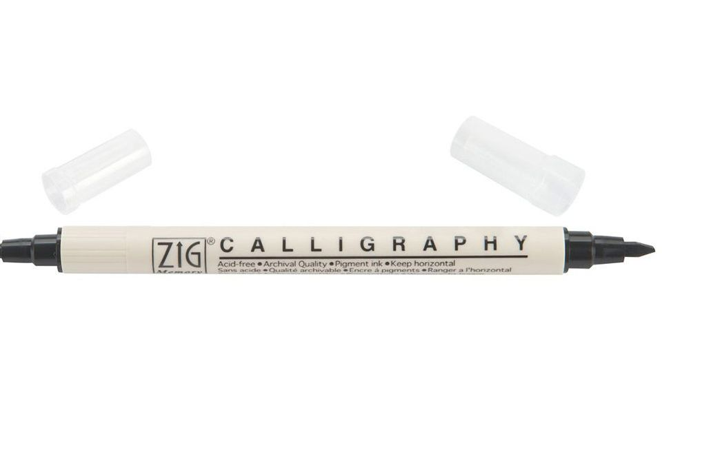 Zig Memory System Calligraphy Dual Tip Marker