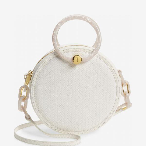 Ted Baker London Agneti Woven Circle Crossbody Bag
