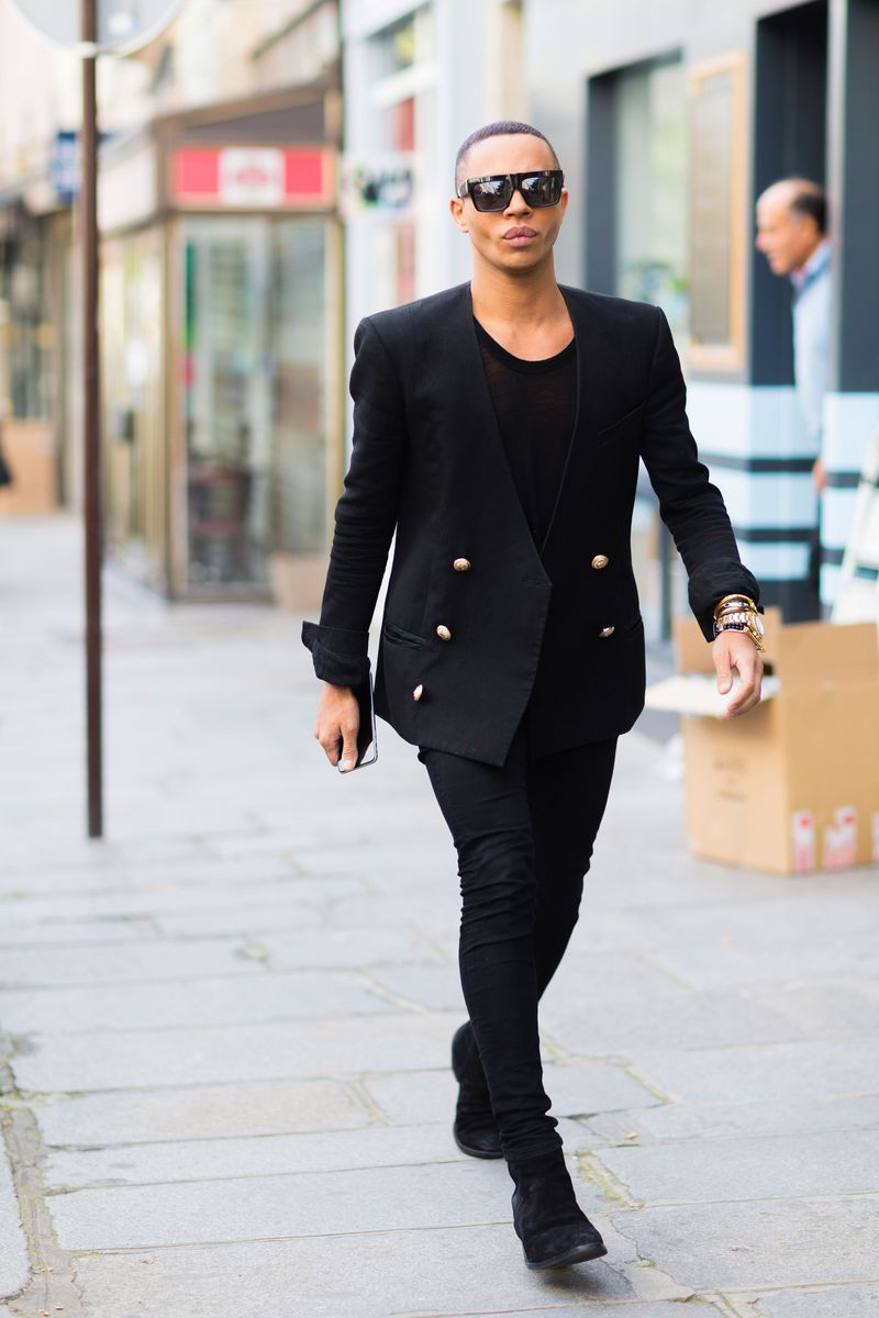 Olivier Rousteing More Of The Best Street Style From Paris Fashion Week The Cut