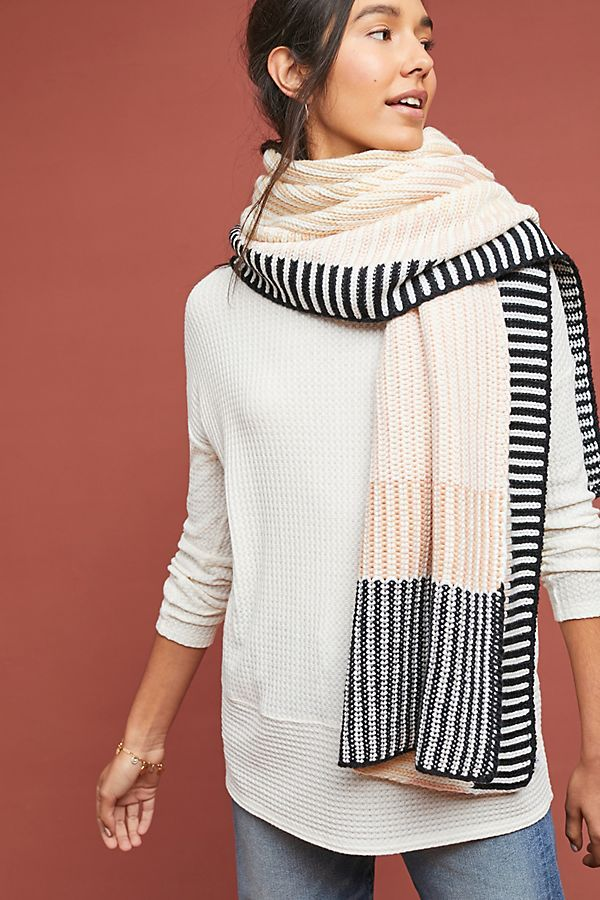 Caroline Kaufman x Anthropologie Oversized Fairbanks Scarf