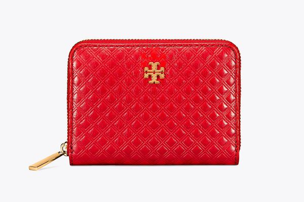 Marion Embossed Zip Coin Case