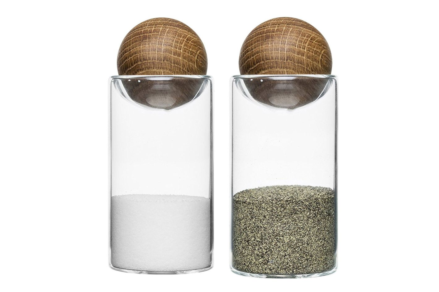 Sagaform Oval Oak Salt and Pepper Set