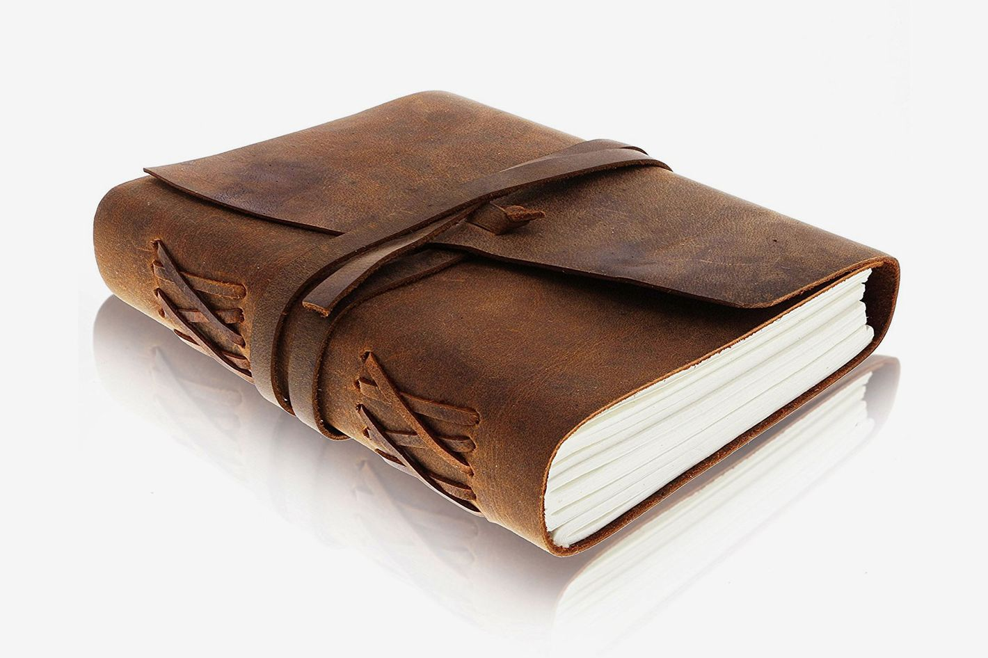 Moonster Leather Journal Writing Notebook