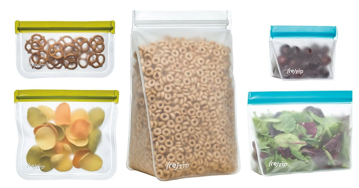 I Can't Stop Buying Reusable Food Storage Bags