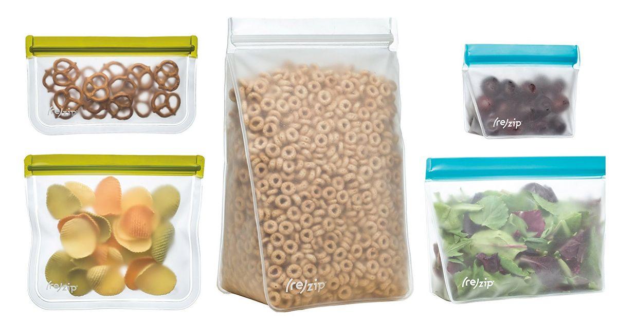 4 Best Reusable, Eco-Friendly Food Storage Bags 2018