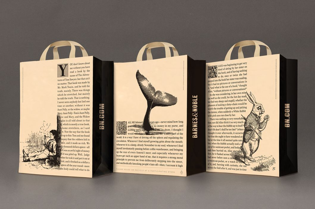 B Amp N S New Strategy Fancy Plastic Bags Nymag