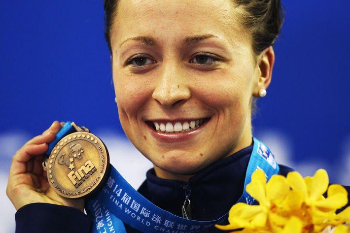 World champion and 2012 Olympian swimmer Ariana Kukors.