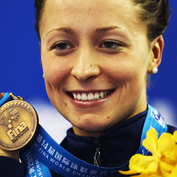 World champion and 2012 Olympian swimmer Ariana Kukors.