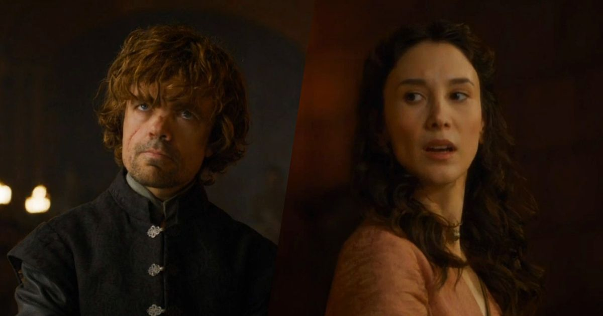 Game of Thrones Couple of the Week: Episode 6 -- The Cut Game Of Thrones Shae And Tyrion