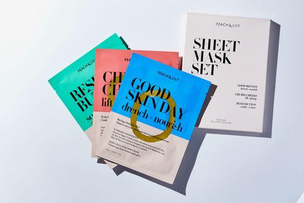 Peach & Lily Sheet Mask Set