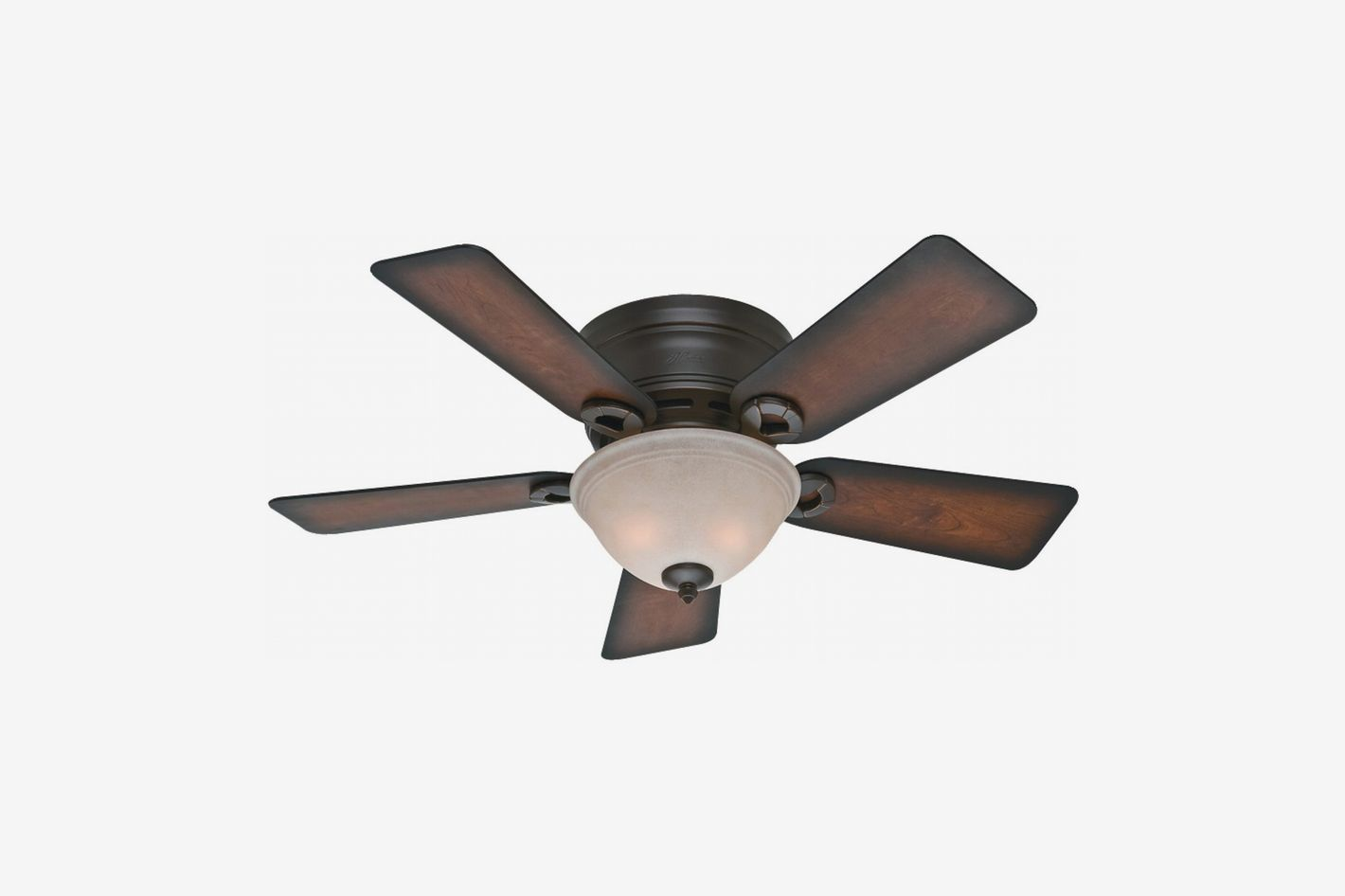 Hunter Fans 51023 Conroy Bengal Ceiling Fan with Five Burnished Mahogany Blades and a Light Kit, 42-Inch
