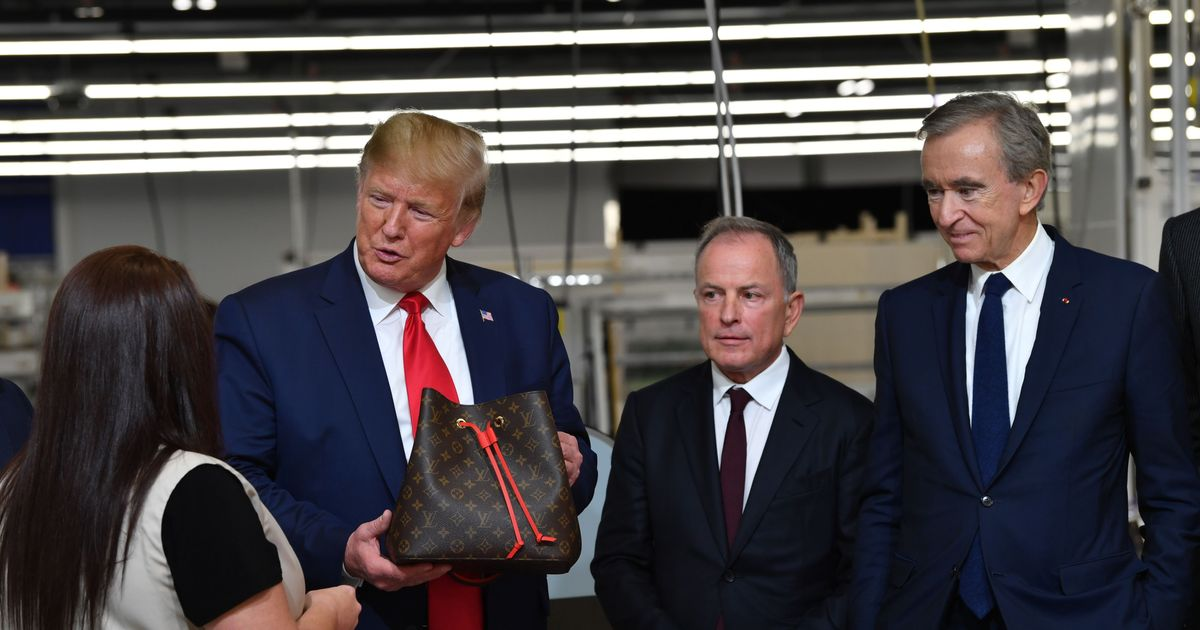Louis Vuitton Artistic Director Speaks Out Against Trump