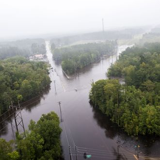 Coast Guard pictures extent of flooding in Charleston, South Carolina