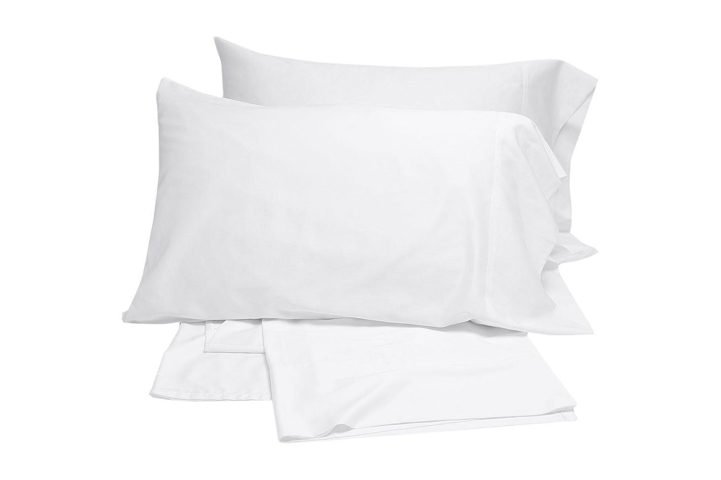 Coyuchi Sateen Sheet Set, Alpine White