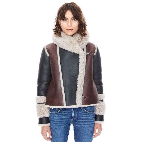Treat Yourself: A Shearling Jacket With Unexpected Details