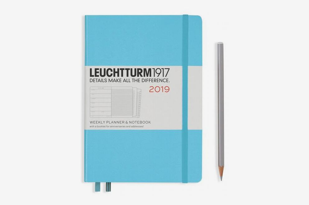 Leuchtturm1917 Weekly Planner + Notebook Medium (A5) 2019
