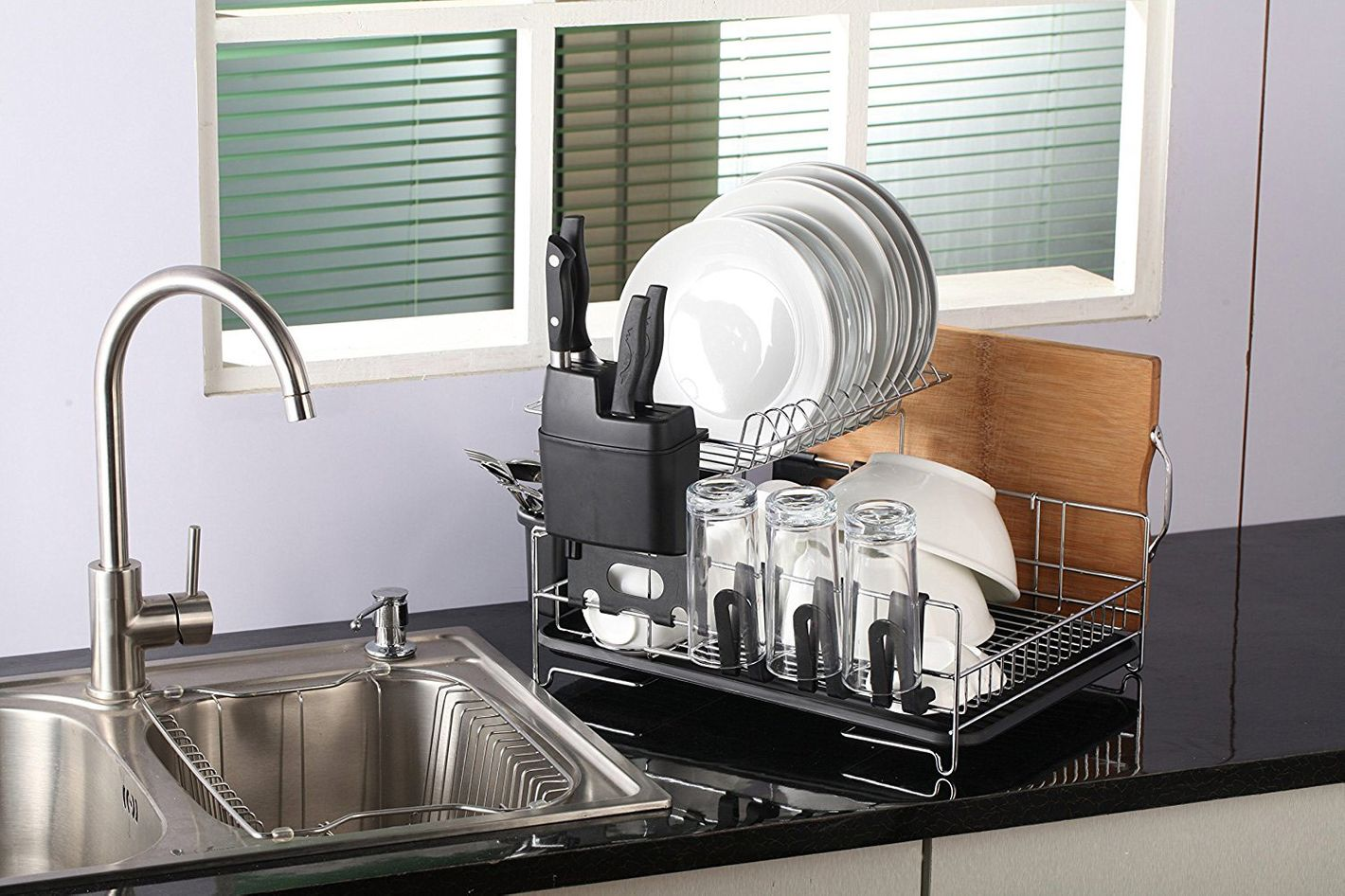 PremiumRacks Professional Dish Rack U2014 304 Stainless Steel