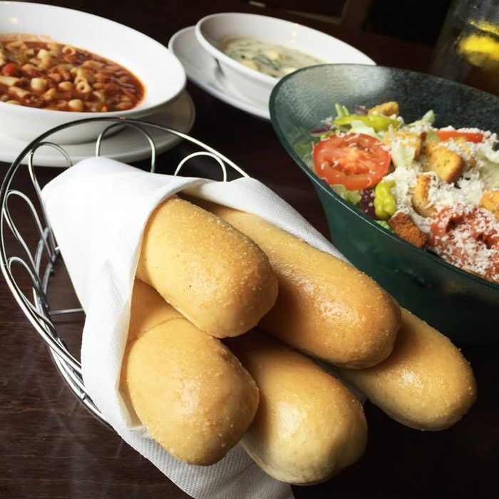 Breadstick everything!