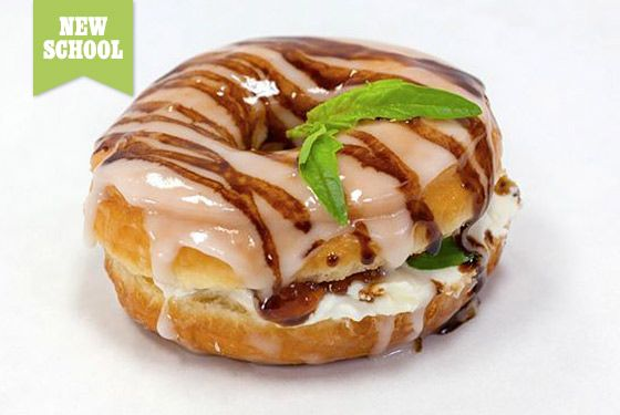 "<a href=""http://donutfriend.com/site/"">Donut Friend</a>    Drummer Mark Trombino (Blink 182, Jimmy Eat World) opened this spot in L.A.'s Highland Park last year, offering cheekily named doughnuts like the Bacon 182 and Jimmy Eats Swirl. His shop features over 30 different topping and filling options for customizing doughnuts (candied lime, cayenne pepper, goat cheese), as well as some pre-made combos like the Fudgegazi, a chocolate-glazed doughnut filled with chocolate mousse and covered in chocolate shavings.    <b>What to Order:</b> The Jets to Basil, a glazed doughnut with goat cheese, strawberry jam, fresh basil, and balsamic reduction."