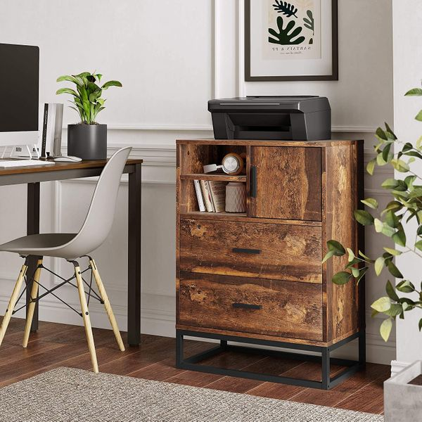 Wlive 2-Drawer Dresser and Organizer