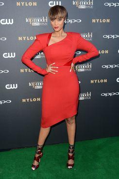 Tyra Banks.