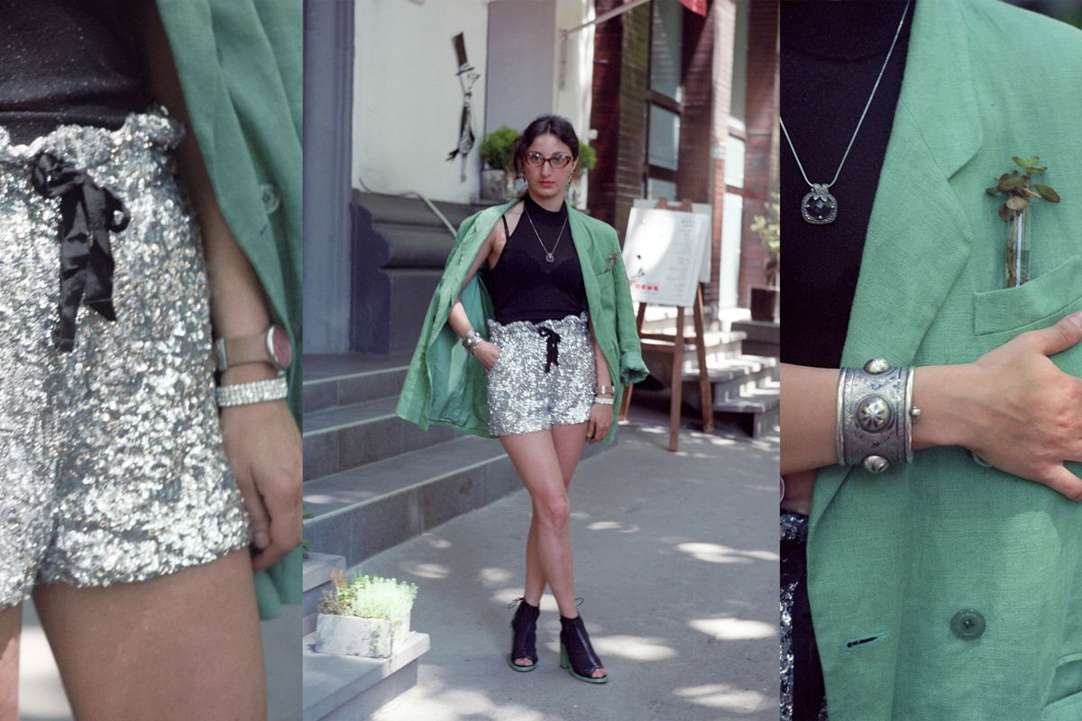 Peplita Fashion Designer Tbilisi Street Style The Cut