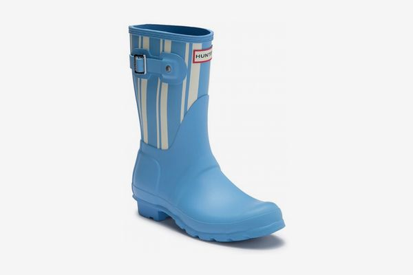 Hunter Original Garden Stripe Short Rain Boot