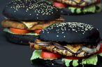 India Gets In on Japan's Black-Burger Craze
