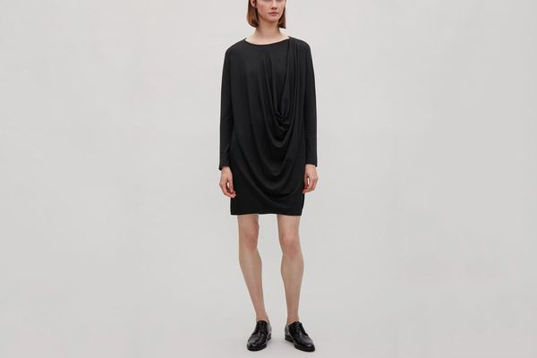COS Draped Jersey Dress