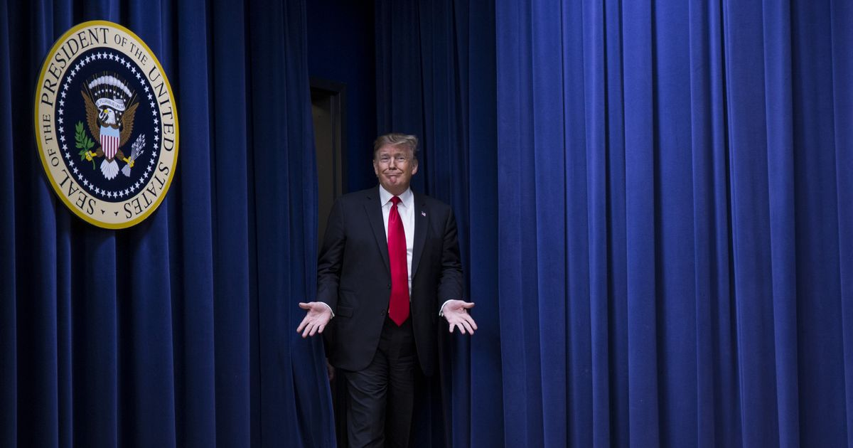 Report: Trump Is Still Learning About His Own Decisions Through the TV